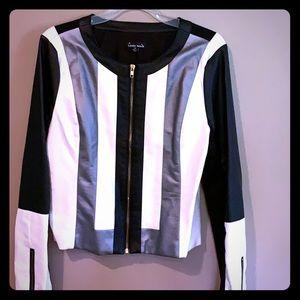 Jackets & Blazers - Haute Monde Leather Jacket.